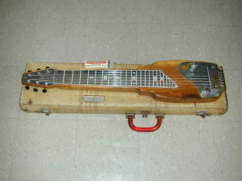 Uiuc Physics 406 Emi Vintage Lap Steel Guitar Gallery